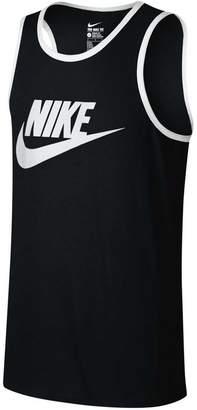 Nike Mens Sportswear Ace Logo Singlet