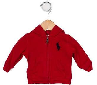 Ralph Lauren Boys' Hooded Zip-Up Sweatshirt