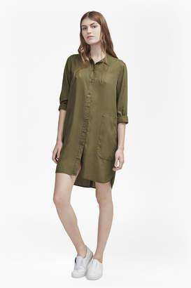 French Connection Military Shirt Dress