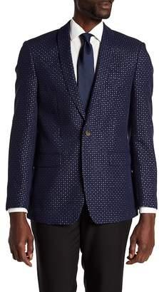 Tallia Vibrante 1-Button Shawl Sportcoat