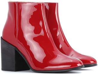 dd478588a8eeca Acne Studios Beth patent leather ankle boots