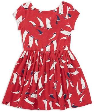 Polo Ralph Lauren Girls' Knit Sailboat Dress - Little Kid