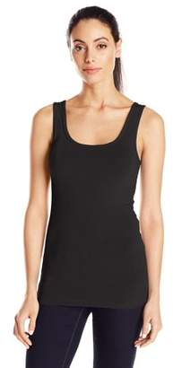 Clementine Apparel Women's Spandex Jersey Fitted Tank Top