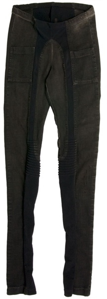 RICK OWENS DRKSHDW - Denim leggings with panels
