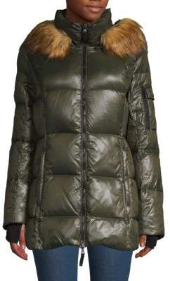 S13/Nyc Faux Fur-Trimmed Gramercy Puffer Coat