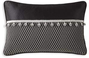 Rose Tree Valencia Diamond-Patterned Pillow