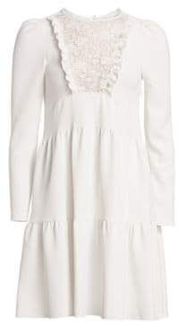 See by Chloe Lace Ruffle Dress