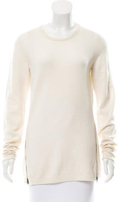 Inhabit Cashmere Zip-Accented Top w/ Tags $125 thestylecure.com