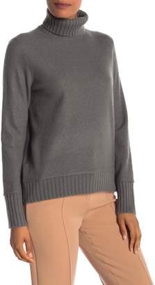 Vince Ribbed Knit Turtleneck Sweater