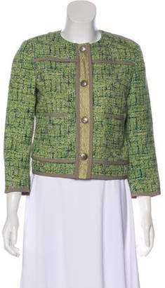 Etro Structured Tweed Jacket