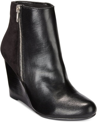 Report Russi Wedge Booties $59 thestylecure.com