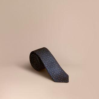 Burberry Slim Cut Flecked Silk Tie $195 thestylecure.com