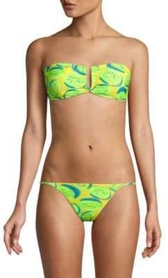 Onia Genevieve Kiwi Bandeau Bikini Top