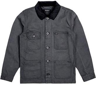 Brixton Men's Silas Relaxed Fit Cotton Canvas Work Jacket