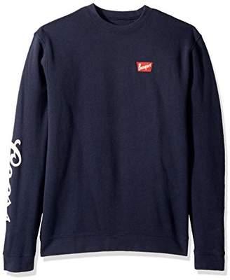 Brixton Men's Coors Banquet Crew Fleece Sweatshirt