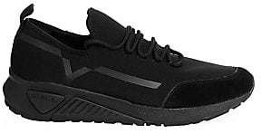 Diesel Men's Mesh& Suede Sneakers
