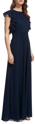 Whistles Zyta Ruffled Gown