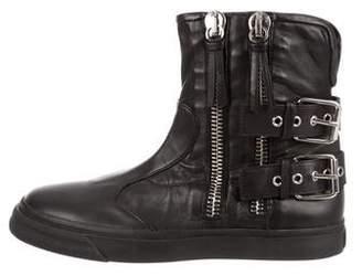Giuseppe Zanotti Leather London Boots w/ Tags