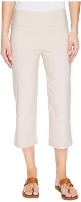 Tribal Stretch Bengaline 22 Flatten It Pull-On Capris Women's Casual Pants