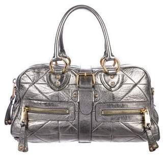 Marc Jacobs Metallic Leather Satchel