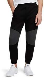 Isaora Men's Neoprene Jogger Pants - Black
