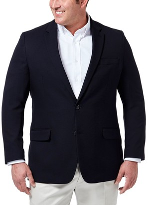 Haggar Big & Tall In Motion Classic-Fit Stretch Blazer