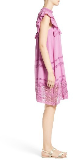 Women's Sea Baja Lace Cotton Swing Dress 5