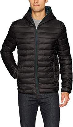 Kenneth Cole New York Men's Hooded Packable Jacket