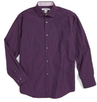 Boy's Dkny Plaid Dress Shirt $57 thestylecure.com