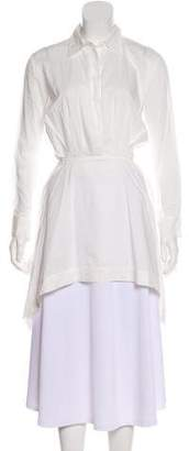 Chalayan Button-Up Long Sleeve Tunic