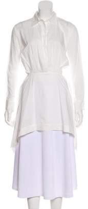 Chalayan Button-Up Long Sleeve Tunic
