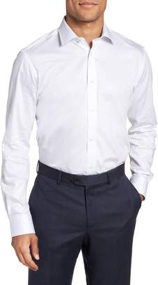 Ted Baker Queenyy Trim Fit Solid Dress Shirt