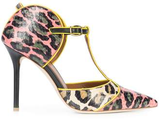 Malone Souliers Imogen leopard print pumps