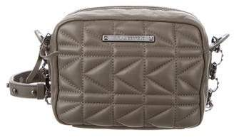 Karl Lagerfeld Leather Quilted Crossbody
