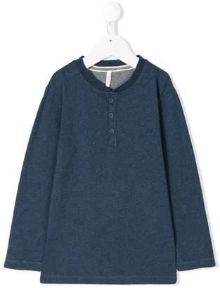 Sun 68 buttoned sweatshirt