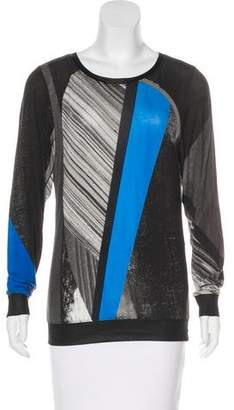 e144d45d84 Pre-Owned at TheRealReal · Helmut Lang Printed Long Sleeve Top