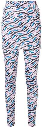 Aalto draped waist leggings