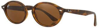 Ray-Ban Monochromatic Oval Sunglasses