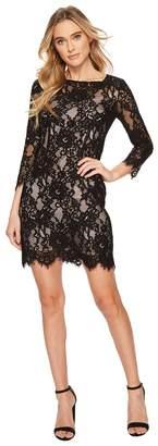 BB Dakota Hale Two-Tone Lace Dress Women's Dress
