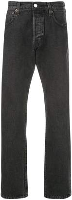 Levi's Made & Crafted stonewash straight leg jeans