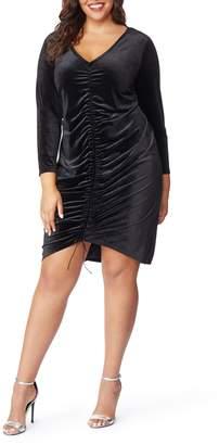 Wilson Rebel X Angels Ruched Velvet Dress