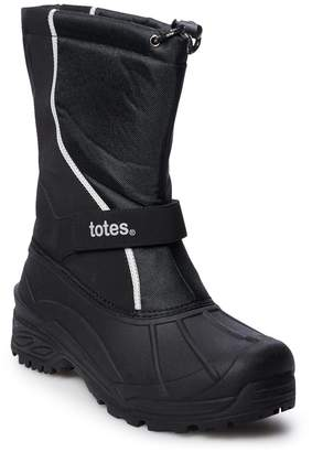 totes Wave Men's Waterproof Winter Boots