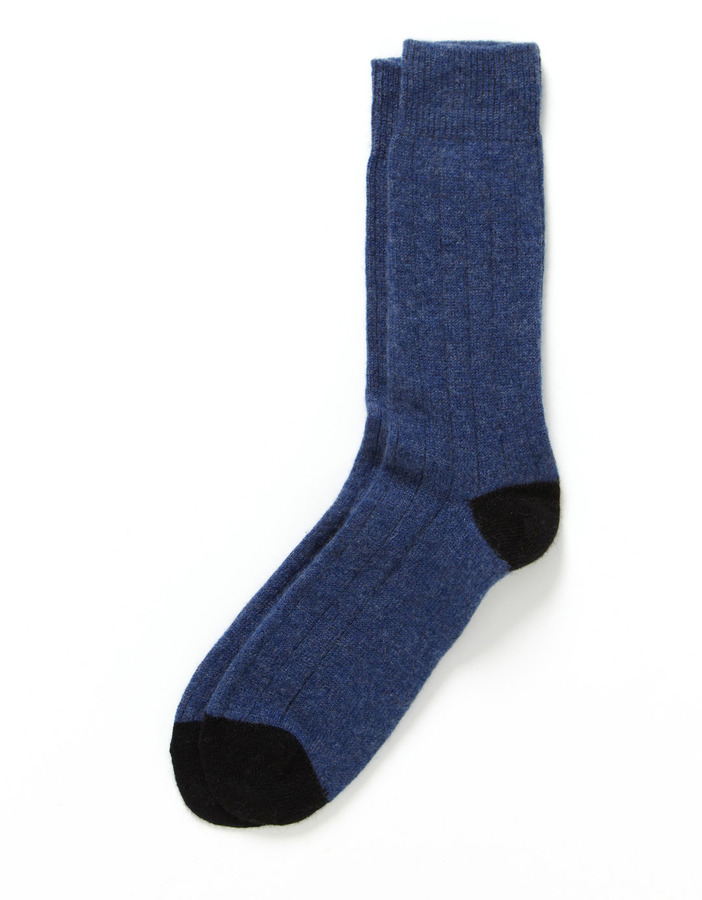 Paul Smith Cashmere Rib Knit Socks
