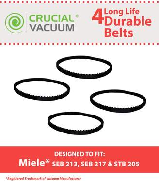 Miele 4 Power Nozzle Belts, Part # 4897760, Designed & Engineered by Crucial Vacuum