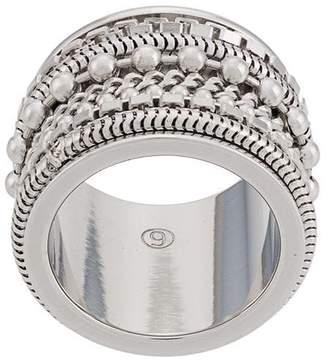 MM6 MAISON MARGIELA multi-beaded ring