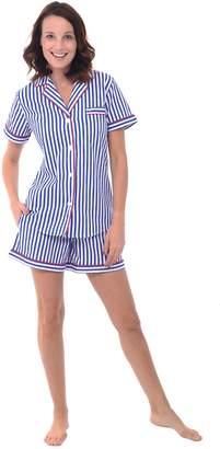 Alexander Del Rossa Del Rossa Women s Cotton Pajamas 03ef29c58