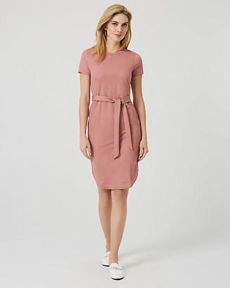 Le Château Jersey Waist Tie T-Shirt Dress