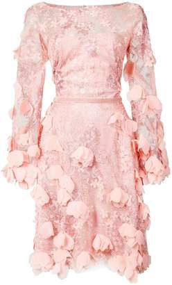 dfe8550c Marchesa Pink Fitted Dresses - ShopStyle