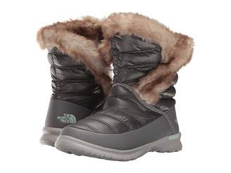 The North Face ThermoBall Microbaffle Bootie II (Shiny Smoked Pearl Grey/Subtle Green