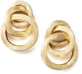 Marco Bicego Jaipur Textured Gold Link Earrings